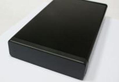 """Solid"" 2.5"" Externe harde schijf behuizing, SATA naar USB 2.0, Zwart, K2501A-U2"